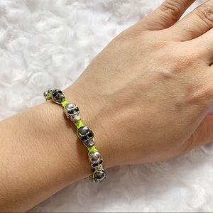 Jewelry - SKULL HEAD ADJUSTABLE BRACELET | NWOT